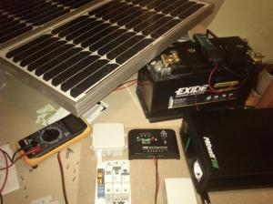 Kit de produção fotovoltaico